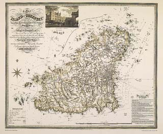 Maps of Guernsey - theislandwiki Duke Maps on