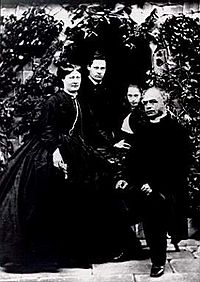 Dean Le Breton, Lillie Langtry's father, and family